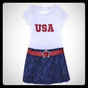 Girls USA Dress